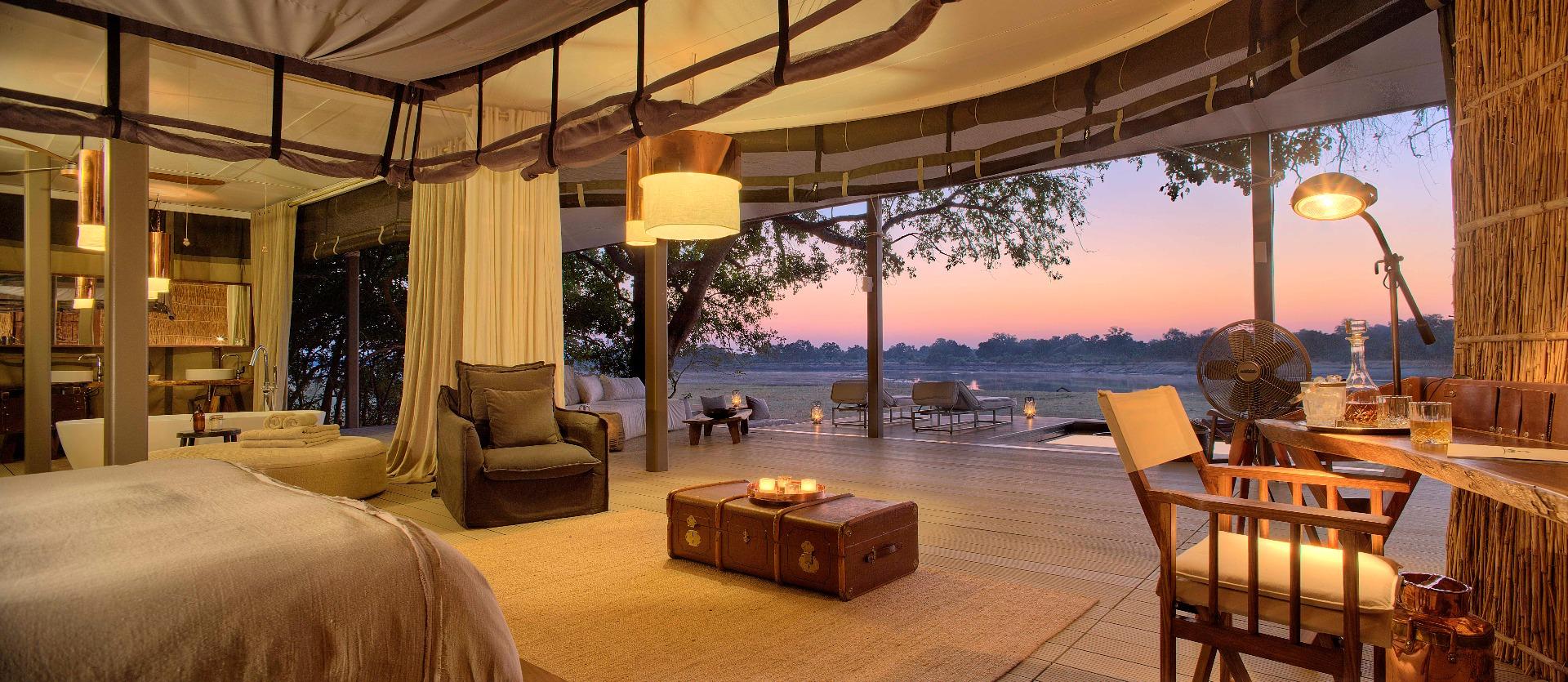 Chinzombo - View from the Villa